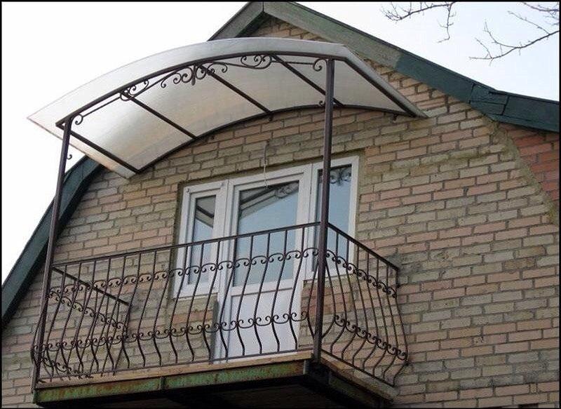 Балконы в частном доме фото.