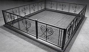 Ритуальные оградки и кресты 14