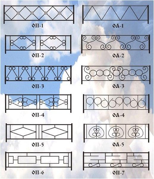 Ритуальные оградки и кресты 3