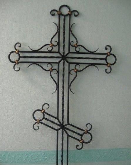 Ритуальные оградки и кресты 30