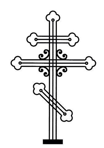 Ритуальные оградки и кресты 31
