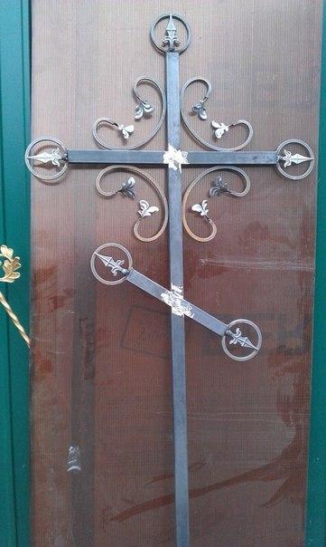 Ритуальные оградки и кресты 32