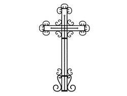 Ритуальные оградки и кресты 33