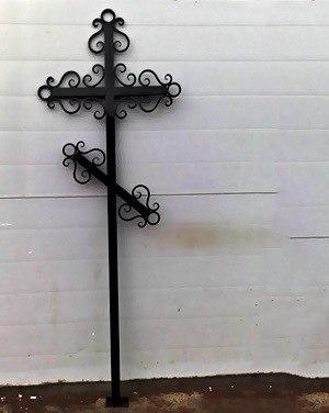 Ритуальные оградки и кресты 34
