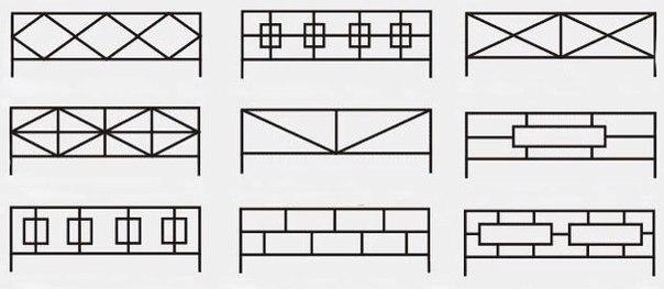 Ритуальные оградки и кресты 4