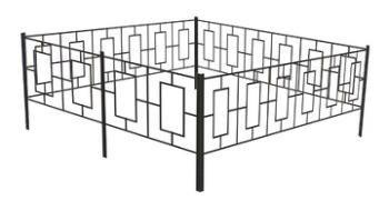 Ритуальные оградки и кресты 5