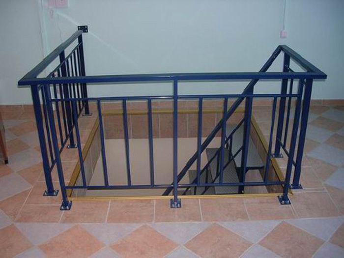 Кованные перила - лестница