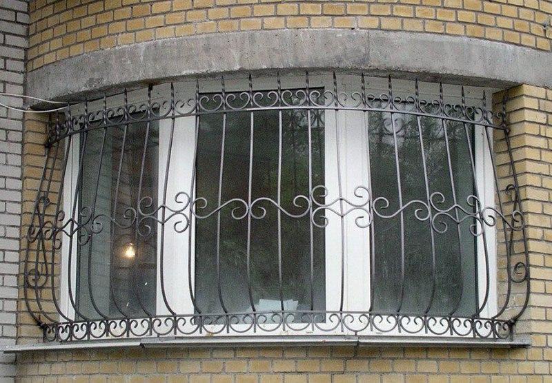 Ковка в Киеве, решётки на окно