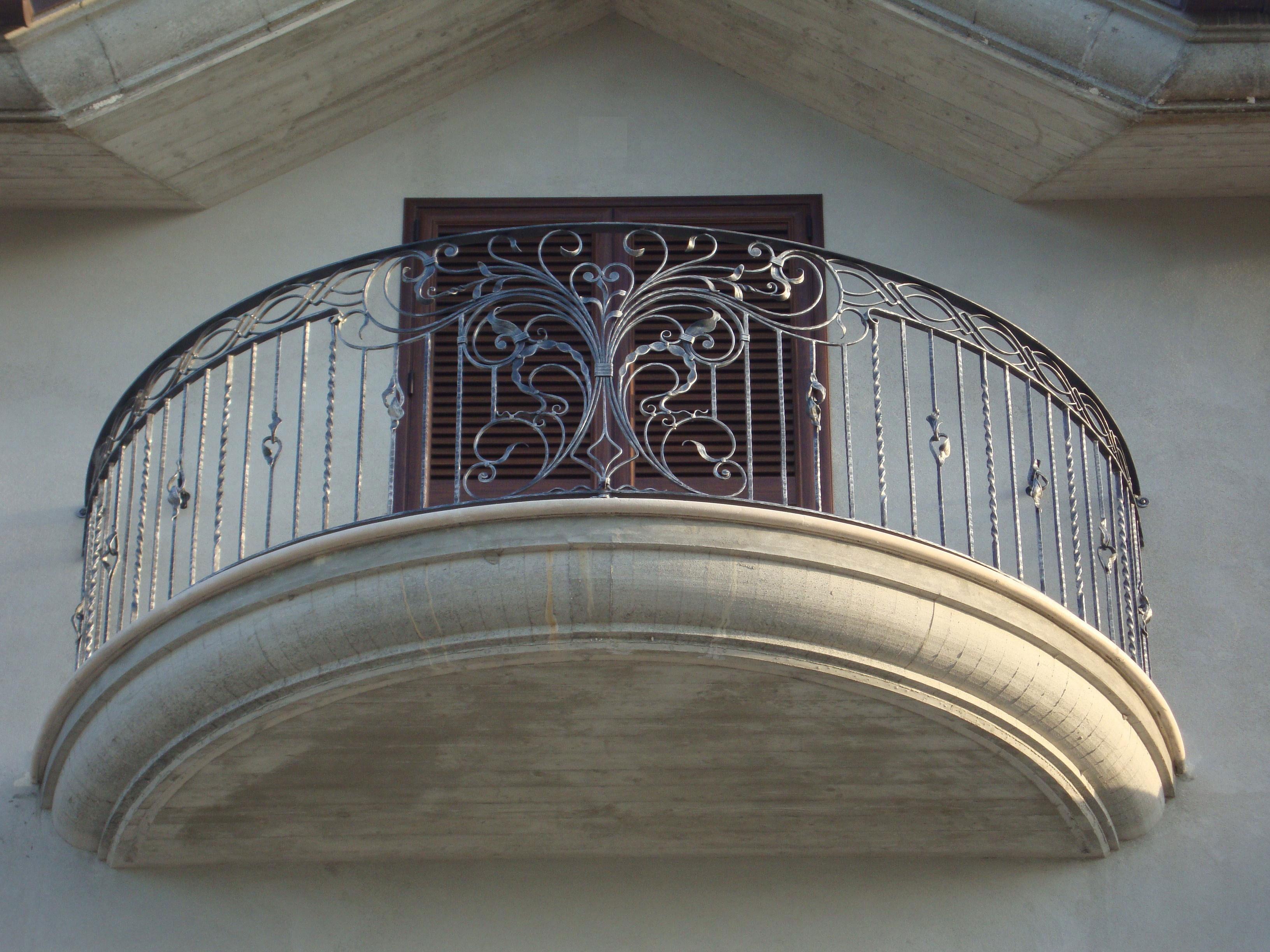 Ограждение для балкона заказать киев