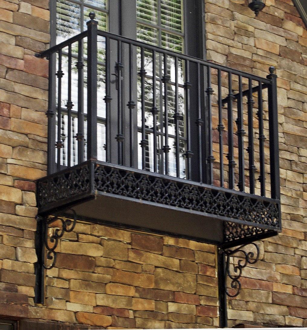 Ограждение для балкона фотография