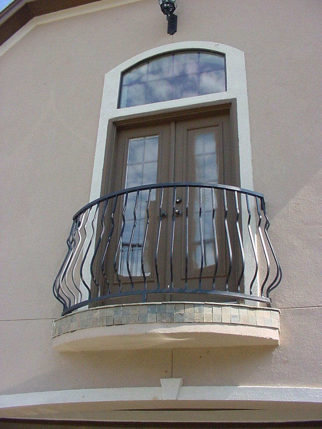 Ограждение для балкона английский стиль