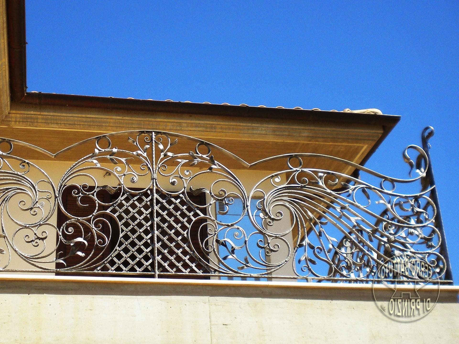 Ограждение для балкона ручная работа