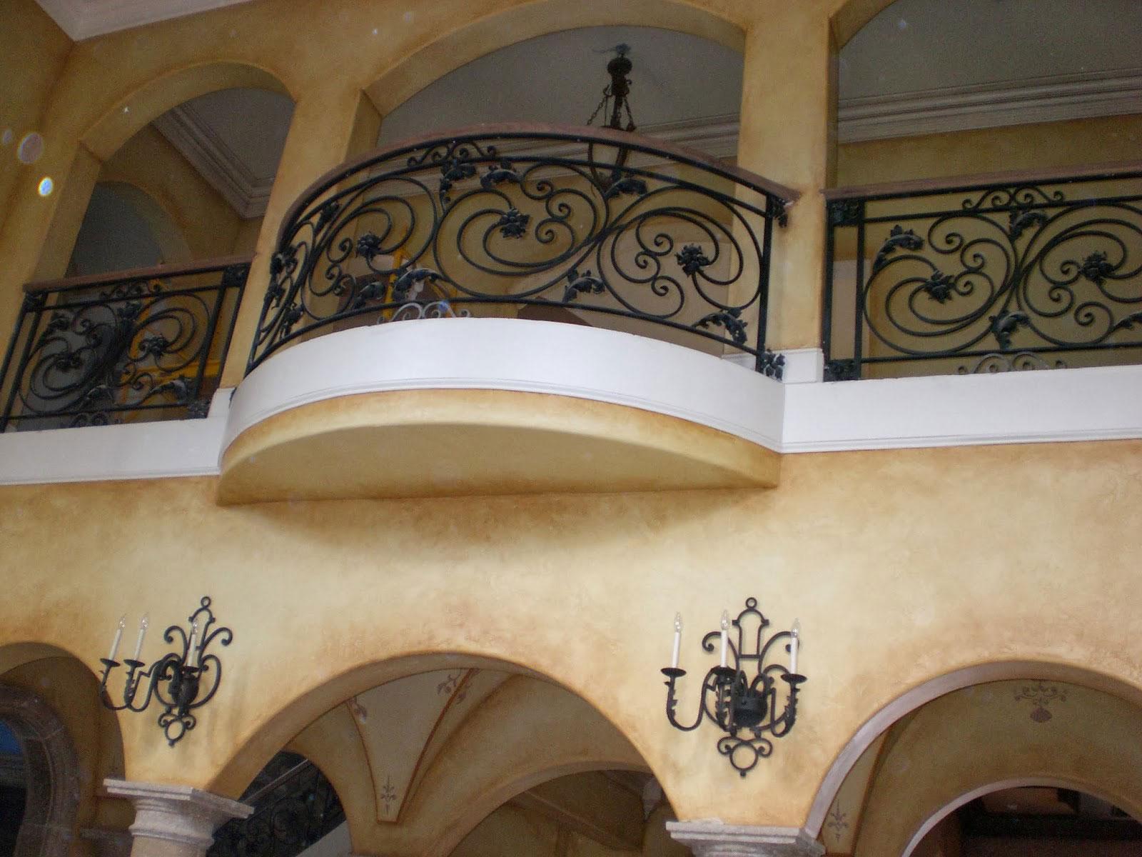 Ограждение для балкона от кузнеца
